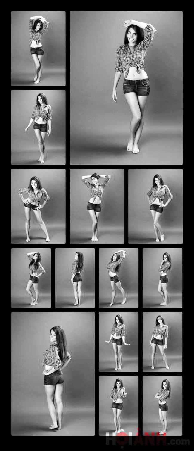 Với các ý tưởng pose này, bạn chụp bán thân hay toàn thân đều đẹp