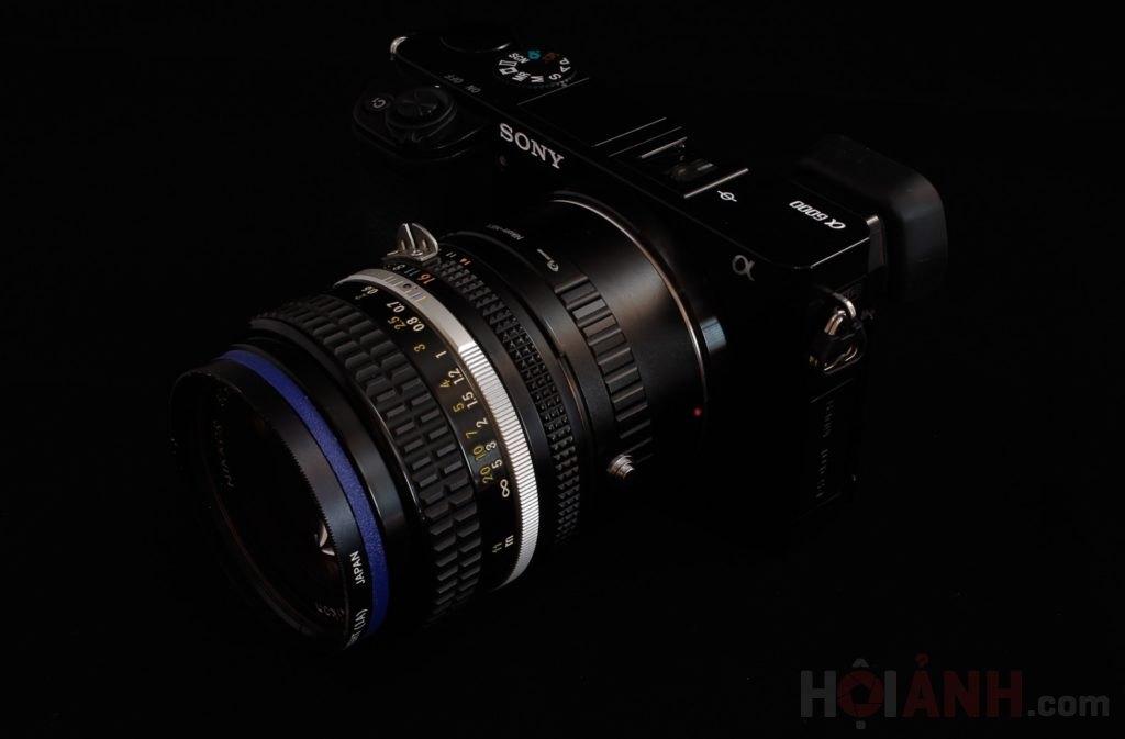 Em nó đây ạ! Sony A6000 & Nikon AIS 50mm1.4