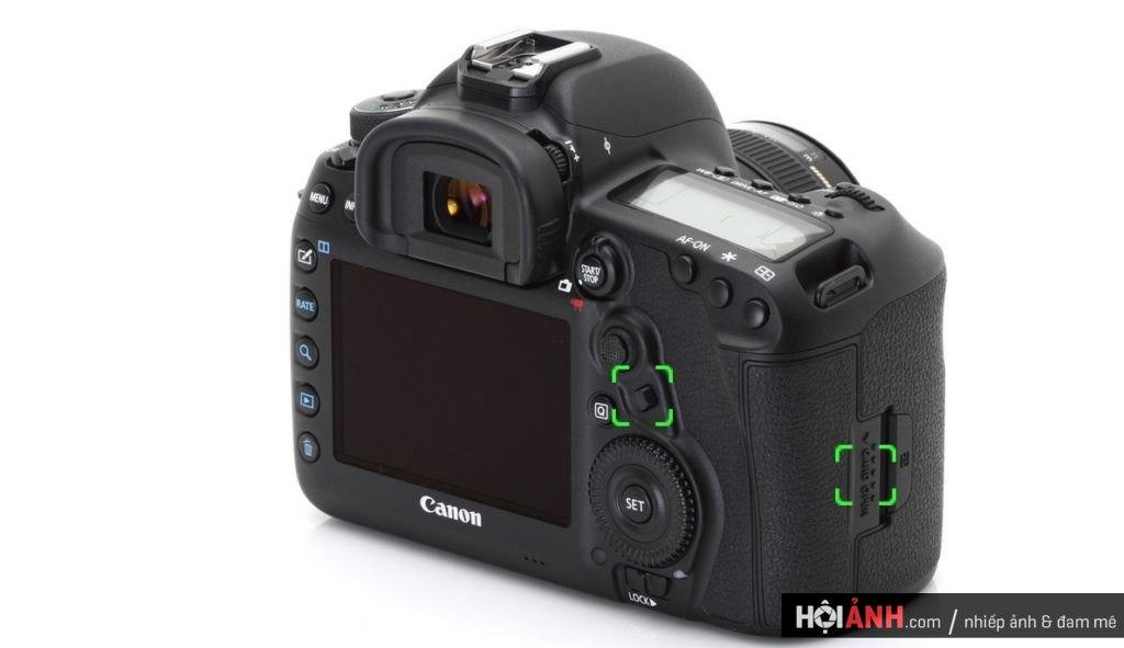 Một số thay đổi của Canon EOS 5D Mark IV