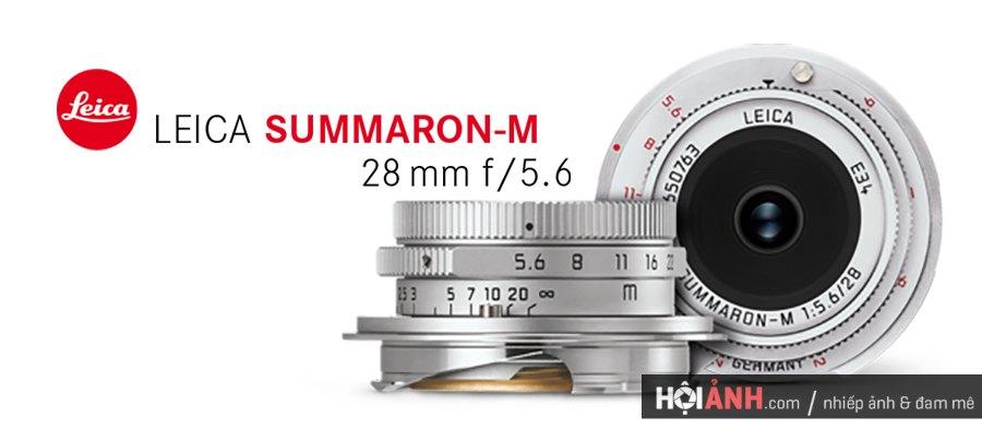 Đánh giá ống kính Leica Summaron-M 28mm F5.6, Prime Lens cho Leica M 1